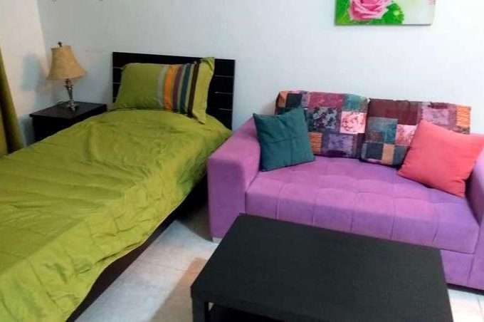 One room furnished apartment for rent near north gate of Jordan University