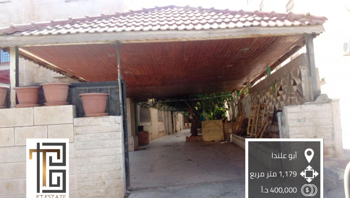 SL-AMM-19-00018 ارض للبيع في أبو علندا جنوب عمان